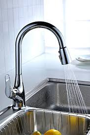 What To Look For In A Kitchen Faucet by Purelux Tulip Single Handle Pull Down Kitchen Sink Faucet With