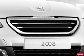 peugeot car logo first official photos of all new peugeot 2008 small crossover