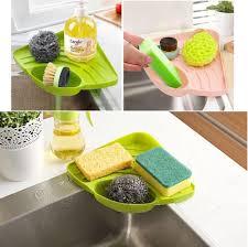 kitchen sink storage ideas amazon com kitchen sink caddy sponge holder scratcher holder