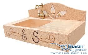 lavelli in graniglia per cucina lavelli mosaici biasin mosaico mosaici arredo giardino