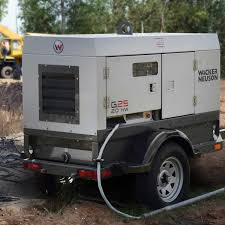 wacker neuson g 25 mobile generators contractors direct