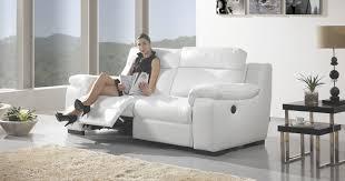 canapé cuir relaxation relax électrique ou fixe cuir 100 ou microfibre ou mixte