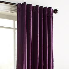 Plum Velvet Curtains Pier 1 Imports Velvet Plum 108 Curtain 80 Liked On