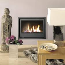 Built In Fireplace Gas by Gas Fireplace Contemporary Closed Hearth Built In Bordeaux