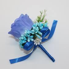 Teal Corsage Aliexpress Com Buy Best Man Groom Boutonniere Silk Satin Rose