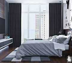 Bedrooms In Grey And White Modern Urban Bedroom Decor In Grey And White Digsdigs