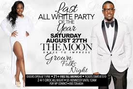 all white party last all white party of the year the moon tallahassee fl