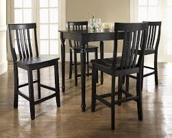 black high table and chairs 41 round pub dining table sets small round pub table sets home