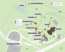 Wmu Map Map Of Park Grounds Wolf Trap