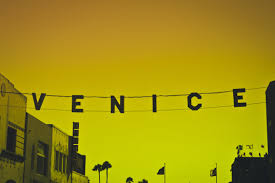 venice hanging sign yellow free stock photo negativespace