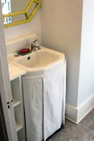 best 25 sink skirt ideas on pinterest bathroom sink skirt no sew sink skirt