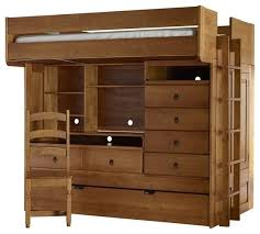 Bunk Bed With Drawers And Trundle Western Plains Barnwood Bunk - Trundle bunk bed with desk