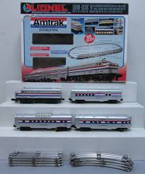 buy lionel 6 31714 amtrak acela train set w railsounds 5 0 ex box