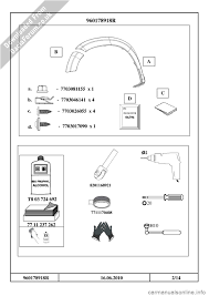 dacia duster 2010 1 g wheelarch mouldings fitting guide workshop
