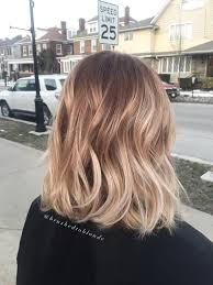 2015 hair colour trends wela honey blonde balayage over a warm copper brown base by danielle