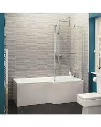 l shaped shower baths willesden bathrooms