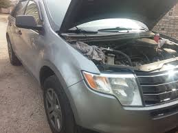 Ford Edge 2006 07 08 Ford Edge Intake Removal Spark Plug Replacement Help Video