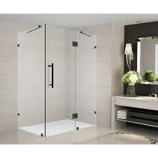 aston avalux gs 40 in x 72 in frameless shower enclosure in