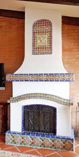 Mexican Tile Backsplash Kitchen by 40 Best Mexican Tile Fireplace Images On Pinterest Mexican Tiles