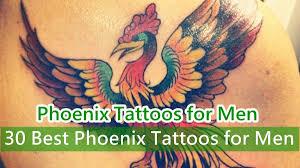 best phoenix tattoos for men