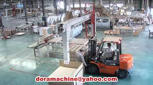 End Of Line Laminate Flooring Laminate Flooring Production Line Double End Tenoner High Grade