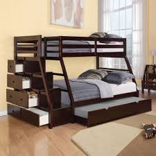White Bunk Bed With Trundle Bedding Glamorous Twin Over Full Bunk Bed With Trundle Stairs