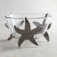 starfish platter glass starfish bowl pier 1 imports