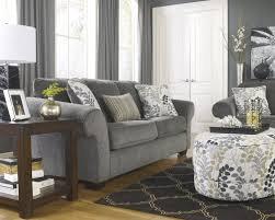 Charcoal Living Room Furniture Makonnen Charcoal 78000 Sofa