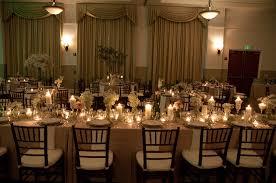 mahogany chiavari chair tables lots of candles and mahogany chiavari chairs