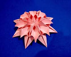 origami flower dahlia easy to do and rich ideas for
