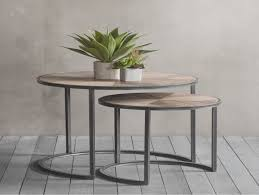 coffee table stacking round glass coffee table set brass stacking round glass coffee table set rose grey nest of coffee