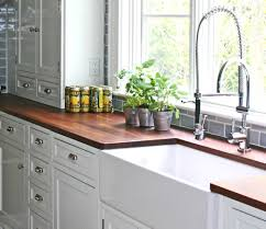 comely white kitchen set with farmhouse sink and stainless steel