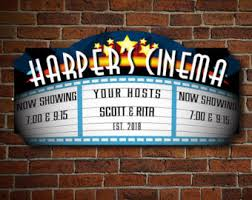 Home Movie Theater Wall Decor Home Theater Decor Etsy