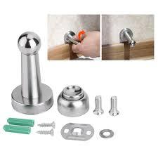 glass door stopper stainless steel magnetic door stopper doorstop stop catch screws
