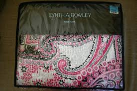 Cynthia Rowley Bedding Queen The Gilded Lilypad Let Your Bed Inspire Your Room
