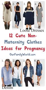 non maternity clothes for pregnancy 12 ideas we