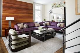 Purple Sectional Sofa Sublime Purple Sectional Sofa Decorating Ideas Images In Family