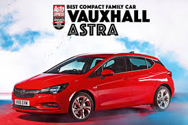 vauxhall astra compact family car of the year 2016 vauxhall astra auto express