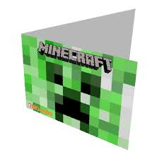 minecraft birthday card template 28 images inspired by