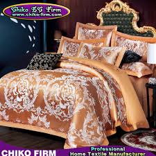 Jacquard Bedding Sets Color King Size Cotton Fabric Luxury Wedding Jacquard Bedding Sets