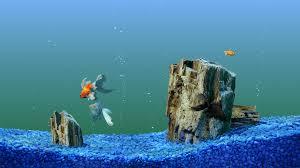 halloween fish tank background fish wallpapers hd pixelstalk net