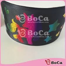 3 inch grosgrain ribbon wholesale new design 50 yards 75mm 3 inch wholesale unicorn holographic