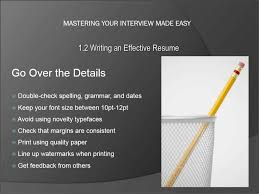 resume writing tip resume writing tips tutorial teachucomp inc resume writing tips tutorial a picture of the list of things you should review