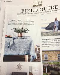 spotted our darjeeling table linen in january u0027s issue of