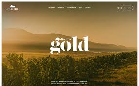 design inspiration nature the best designs web design inspiration gold hill winery