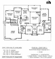 Basement House Floor Plans House Floor Plans 3 Bedroom 2 Bath With Garage Caruba Info