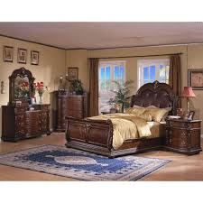 King Sleigh Bed Davis Direct Coventry King Sleigh Bed Dresser Mirror