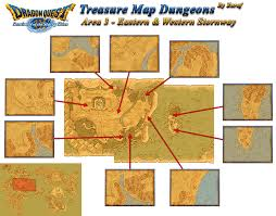 Treasure Maps Dragon U0027s Den U003e Dragon Quest Ix Ds U003e Maps