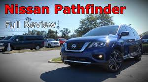 nissan pathfinder model comparison 2017 nissan pathfinder full review s sv sl u0026 platinum youtube