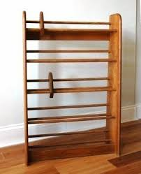 Dvd Holder Woodworking Plans by Wood Dvd Rack Foter